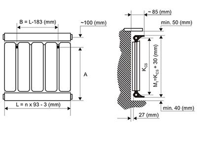 Aluminium radiátor Romantik radiátor Viking radiátor